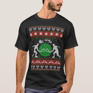 Racquetball-Weihnachtskleidung T-Shirt