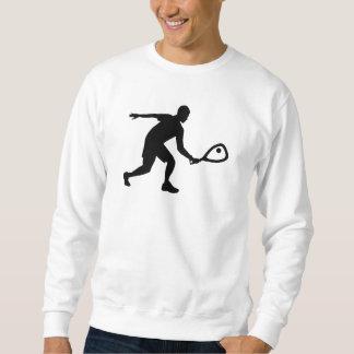 Racquetballspieler Sweatshirt