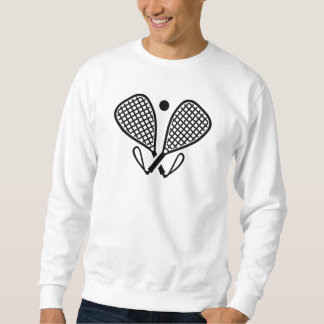 Racquetbalschläger Sweatshirt