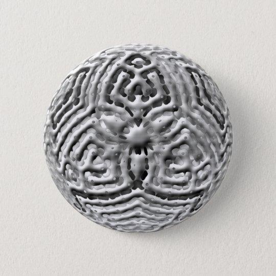 Rad - 3D Runder Button 5,1 Cm