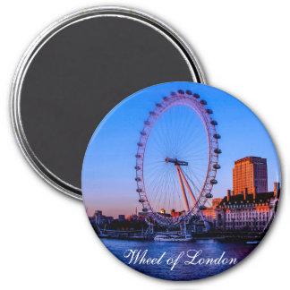 Rad des London-Kühlschrank-Magneten Runder Magnet 7,6 Cm