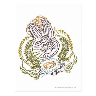 RADAGAST™ Stickerei Postkarte