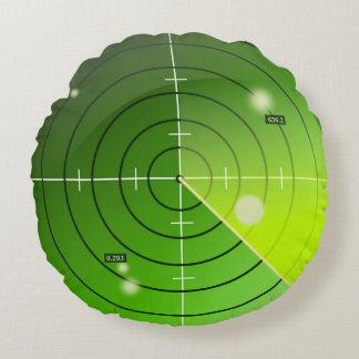 Radar Rundes Kissen