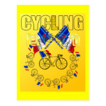 Radfahren2011-zyklus-Kreis Postkarte