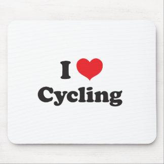 Radfahren der Liebe I Mousepad