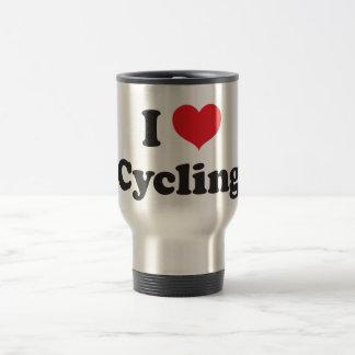 Radfahren der Liebe I Reisebecher