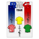 Radfahren, Frankreich-Radfahrergang bereisend Karten