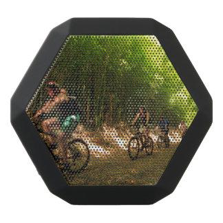 Radfahren in Bambusspur Schwarze Bluetooth Lautsprecher