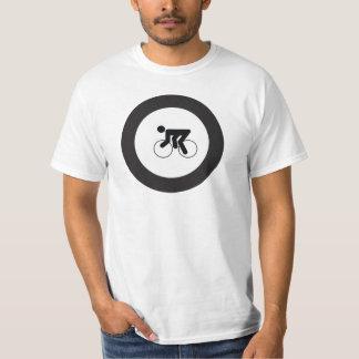 RADFAHREN| Schwarzweiss-Ikone im roundel T-Shirt
