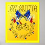 Radfahrenausflug-Tour de France-Sport-Fan 2011 Plakatdruck