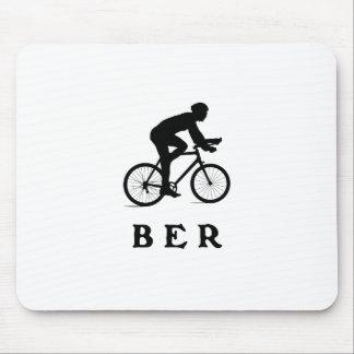 Radfahrenbrustbeeren Berlins Deutschland Mousepad