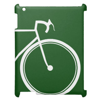 Radfahrender Fahrradsport iPad Hülle