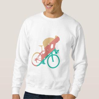 Radfahrendes Sweatshirt
