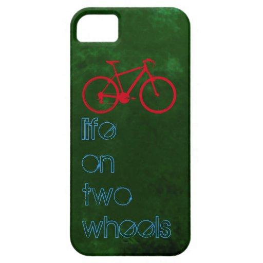 radfahrenfahrräder - zwei Räder iPhone 5 Hülle
