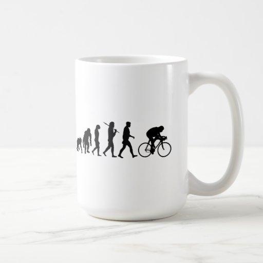 Radfahrenradfahrer-Evolution Fahrrad-Reiter-Zyklus Tee Tasse