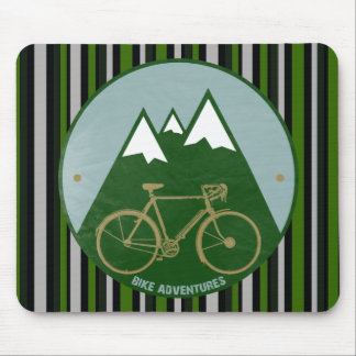 Radfahrer Abenteuer, Berge Mauspads
