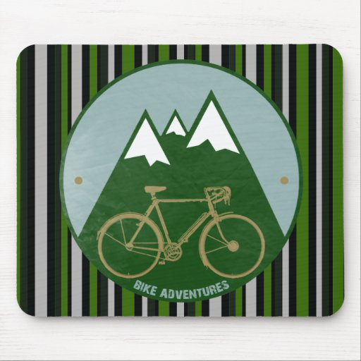 Radfahrer Abenteuer, Berge Mousepad