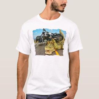 Radfahrer-Alligator T-Shirt