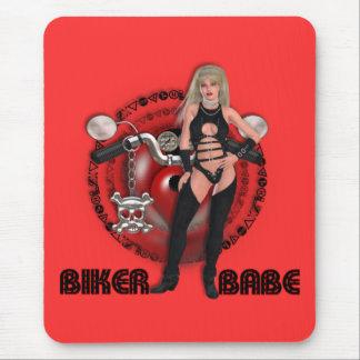 Radfahrer-Baby - Mousepad