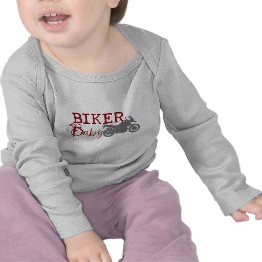 Radfahrer-Baby Shirt