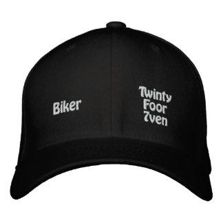 Radfahrer Bestickte Kappe