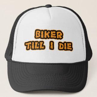 Radfahrer, bis ich die truckerkappe