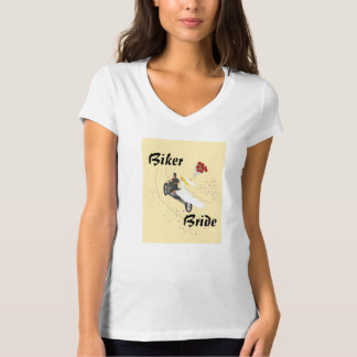 Radfahrer-Brautt-shirt T Shirt