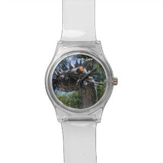 Radfahrer-Drache Uhr