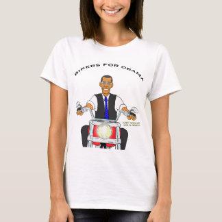 Radfahrer für Obama T-Shirt