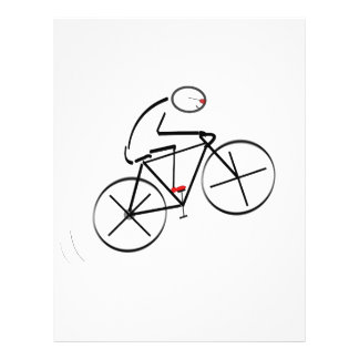 Radfahrer-Geburtstag Flyers