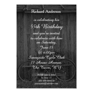 Radfahrer-Geburtstags-Feier-Einladung - irgendein Karte