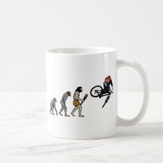 Radfahrer Kaffeetasse