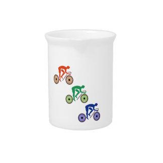 Radfahrer Krug