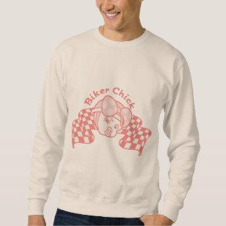 Radfahrer-Küken 914 Sweatshirt