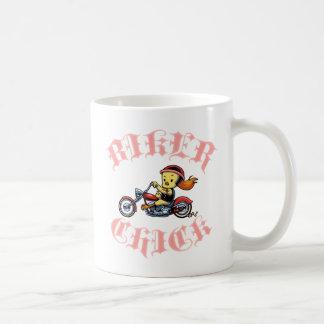 Radfahrer-Küken II Kaffeetasse