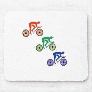 Radfahrer Mousepad