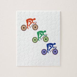 Radfahrer Puzzle