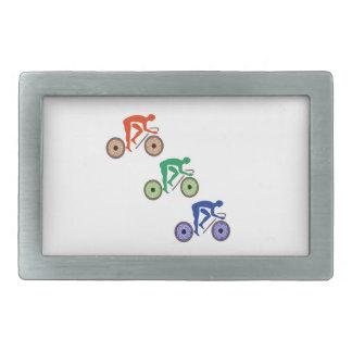 Radfahrer Rechteckige Gürtelschnallen