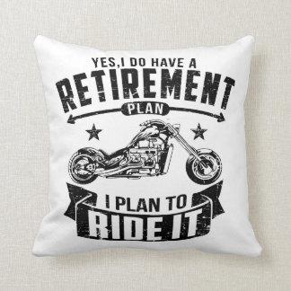 Radfahrer-Ruhestand Kissen