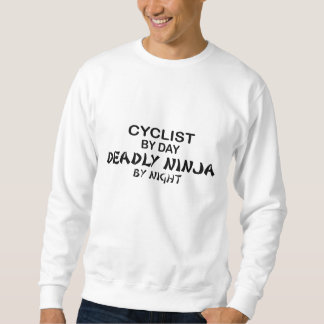 Radfahrer tödliches Ninja bis zum Nacht Sweatshirt