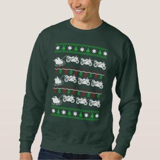 Radfahrer-Weihnachten Sweatshirt