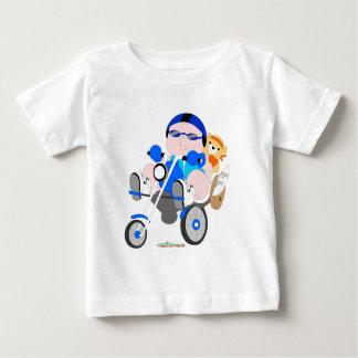 Radfahrerbabyjungen-T - Shirt