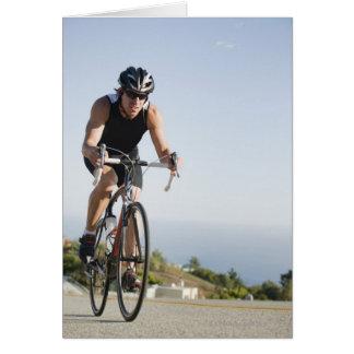 Radfahrerstraßenreiten in Malibu Karte