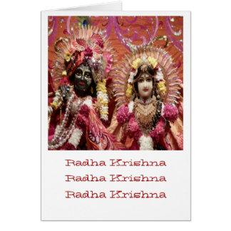 Radha KRISHNA für Liebe, Wohlstand des Friedensn Karte