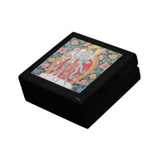 Radha-Krishna Schmuck/Geschenkboxen Kleine Quadratische Schatulle