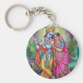Radha und Krishna Schlüsselband