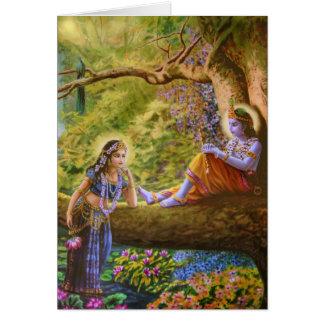 Radhe Shyam! Gruß-Karten Karte