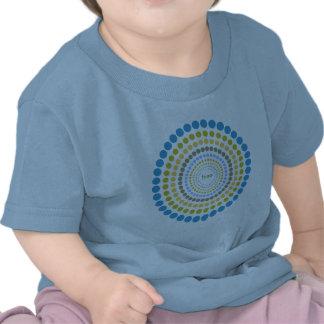 """Radial"" grafischer T - Shirt"