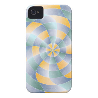 RadialWavey Muster iPhone 4 Cover