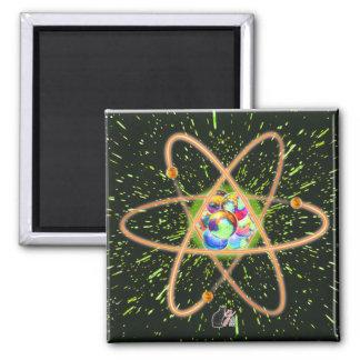Radikaler Atommagnet Quadratischer Magnet